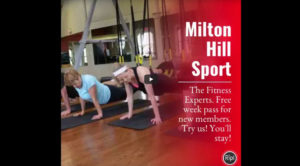 Latest videos from Milton Hill Sport & Spa
